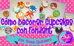 como decorar cupcakes con fondant - 255