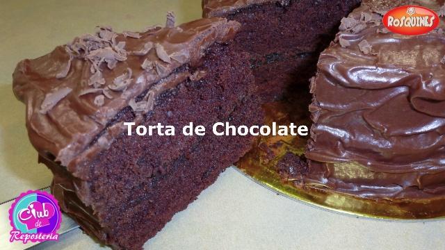 Torta de Chocolate - Club de Reposteria