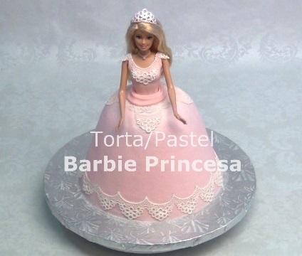 Cómo Hacer una Torta de Barbie Princesa por Rosa Quintero