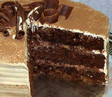 Torta Especial de Chocolate por Rosa Quintero