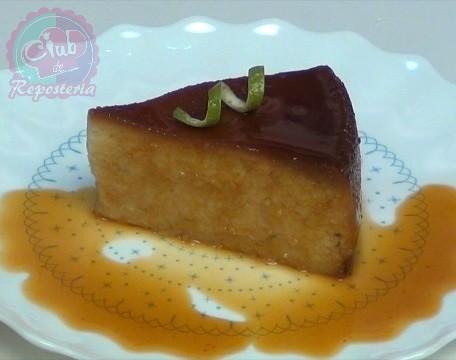 Cómo elaborar un pudin de torta con naranja por Rosa Quintero