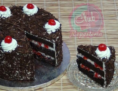 Pastel o Torta Selva Negra por Rosa Quintero