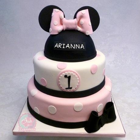 Torta Minnie Mouse por Rosa Quintero