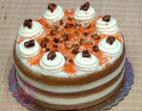 Receta Básica de Torta o Pastel de Zanahoria por Rosa Quintero